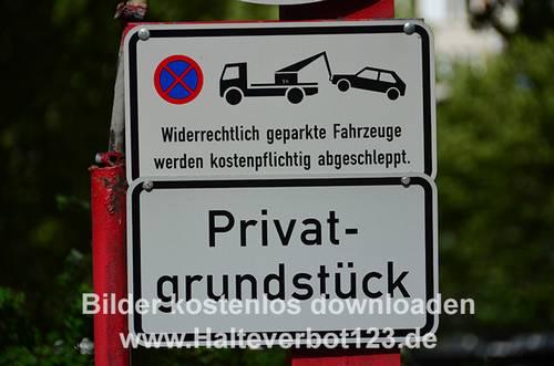 schild parken verboten abschleppen