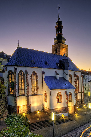 Halteverbot an der Saarbrücken Schlosskirche