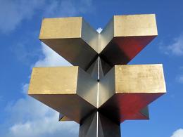 Halteverbot an der Mülheimer Skulptur