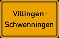 Ortsschild Villingen-Schwenningen