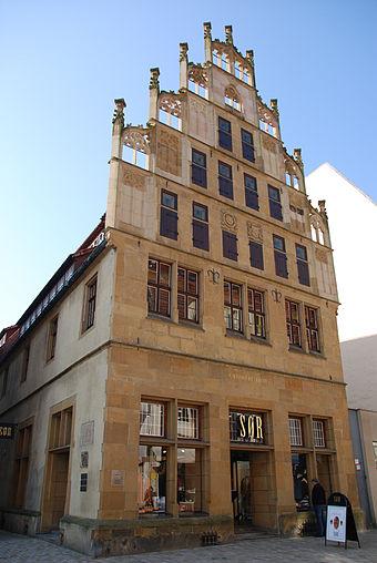 Bielefeld - Das Crüwellhaus am Alten Markt