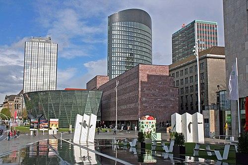 Blick auf das Zentrum Dortmunds