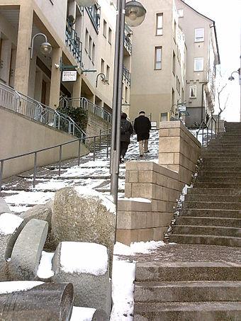 Böblingen - Treppenreiche Innenstadt