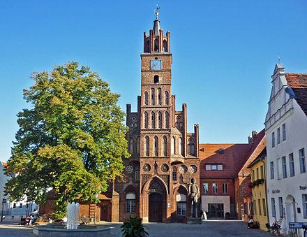 Das Altstädtische Rathaus der Stadt Brandenburg