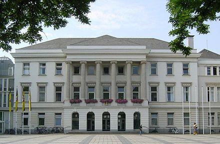 Das Krefelder Rathaus