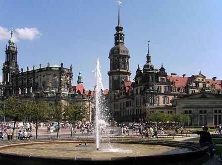 Dresden Schloss und Dom