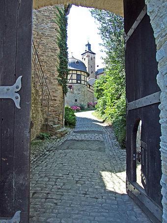 Eingang Burg Kronberg