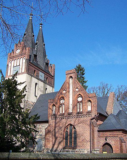 Evangelische St.-Annen-Kirche in Zepernick