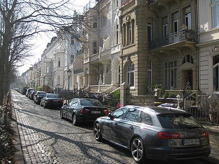 Gründerzeitfassaden in der Poppelsdorfer Allee