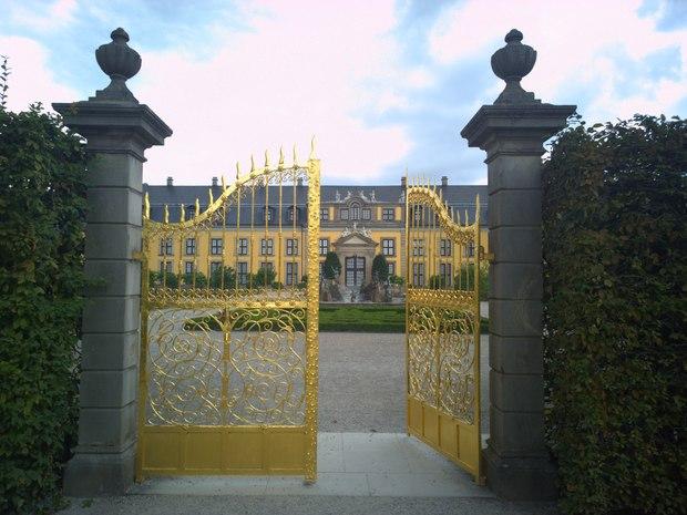 Das Goldene Tor in den Herrenhäuser Gärten