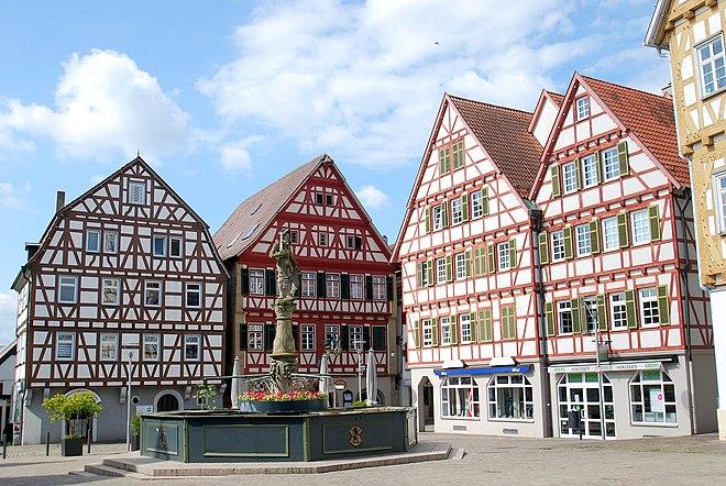 Leonberg Marktplatz
