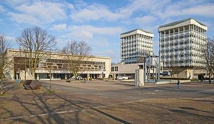 Marl - Der Rathauskomplex