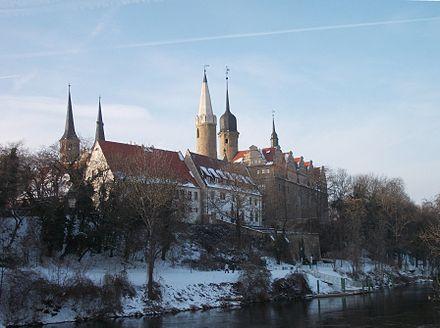 Merseburg Dom, Schloßblick