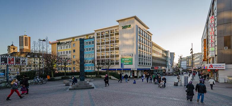 Mühlheim - Schlossstraße, Blick nach Westen