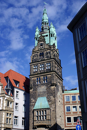 Münster - Der Stadthausturm
