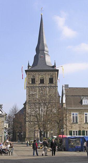 Ratingen - St. Peter und Paul, Turm