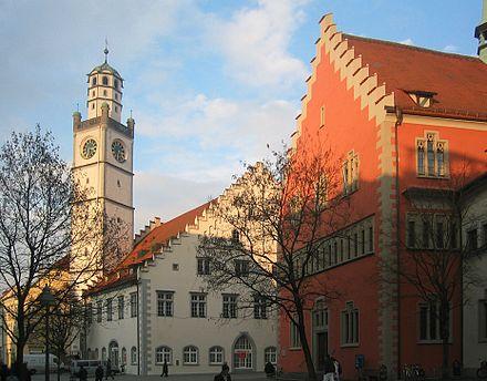 Ravensburg Blaserturm, Waaghaus, Rathaus