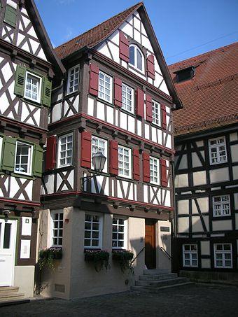 Schorndorf, Gottlieb Daimler Geburtshaus
