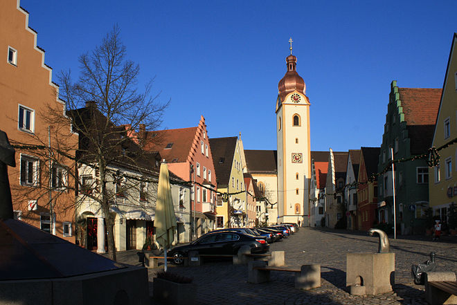 Schwandorf Oberer Marktplatz