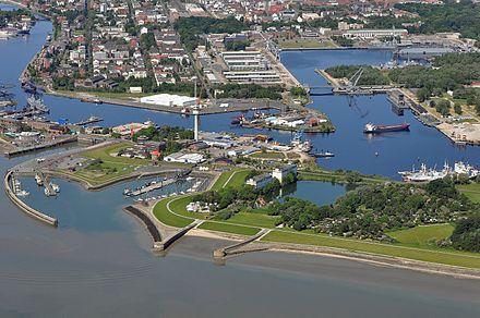 Wilhelmshaven - Blick über den inneren Hafen