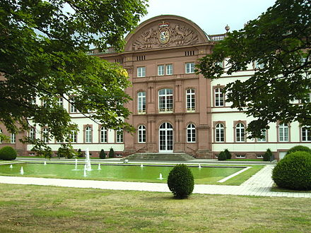 Schloss mit Schlossgarten